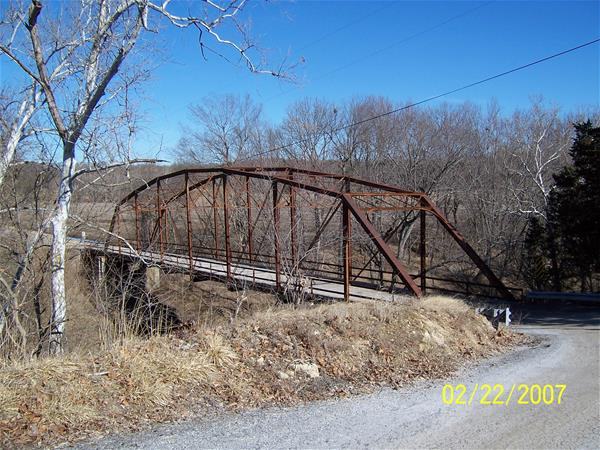Walnut Acres Bridge Before