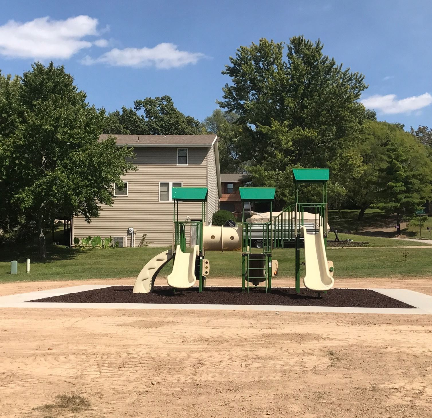 Playground with Sidewalk