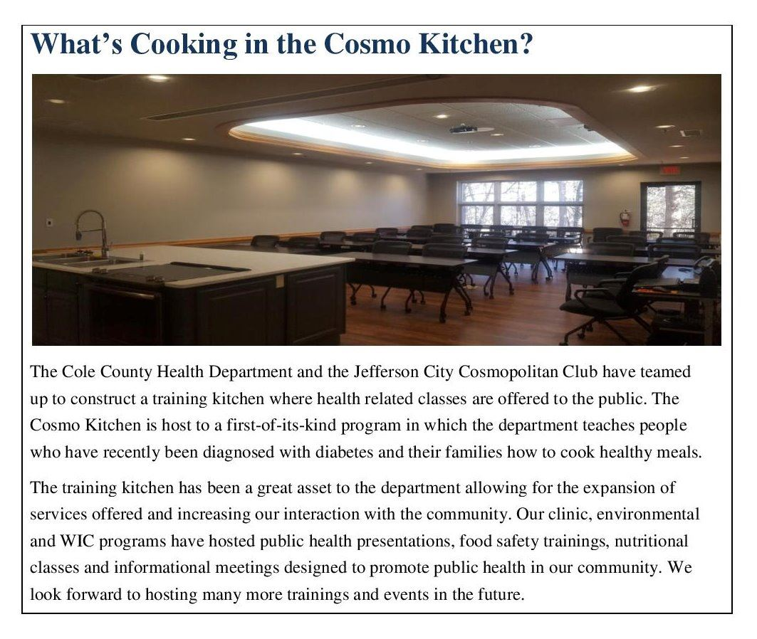 What s Cooking in the Cosmo Kitchen