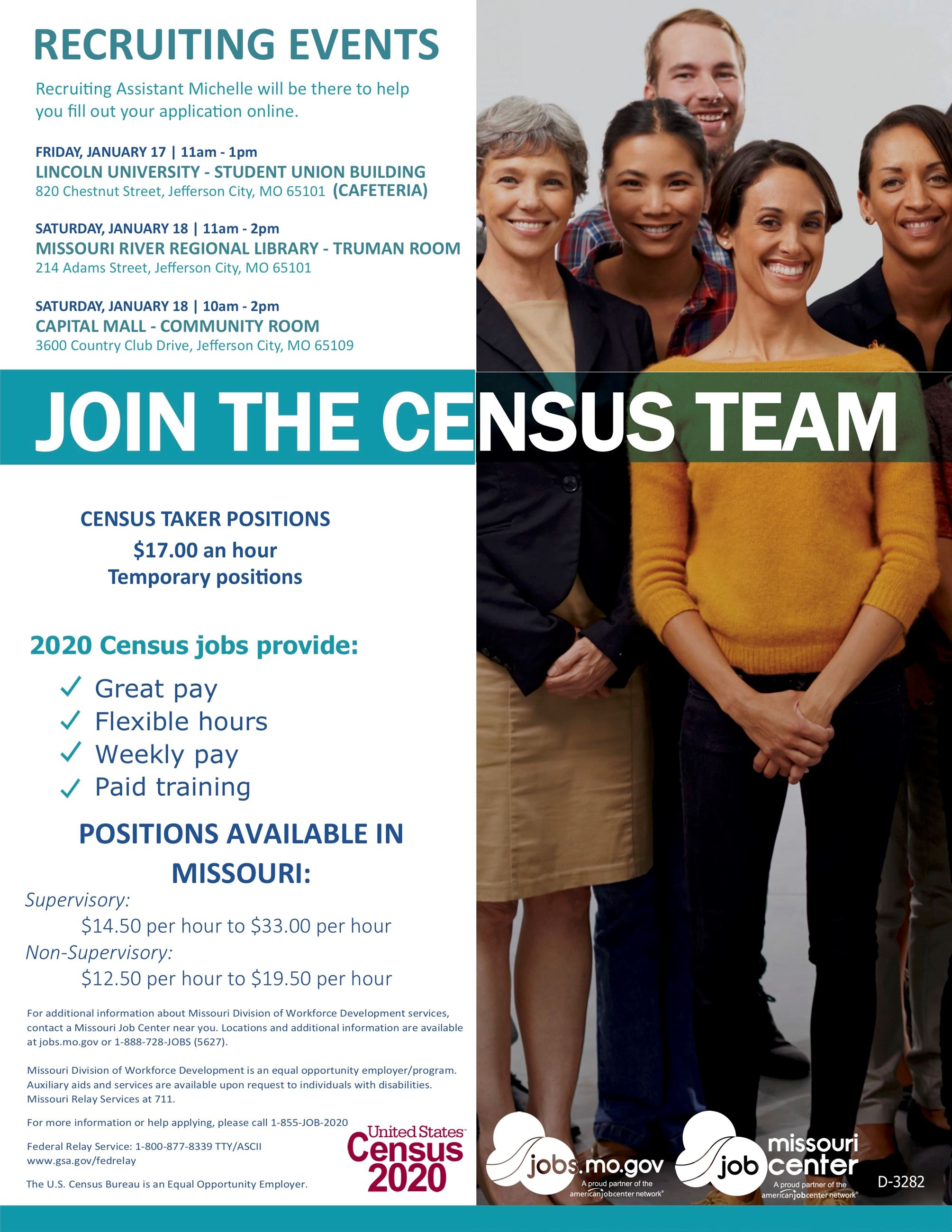 census 2020 flyer 01/14/2020